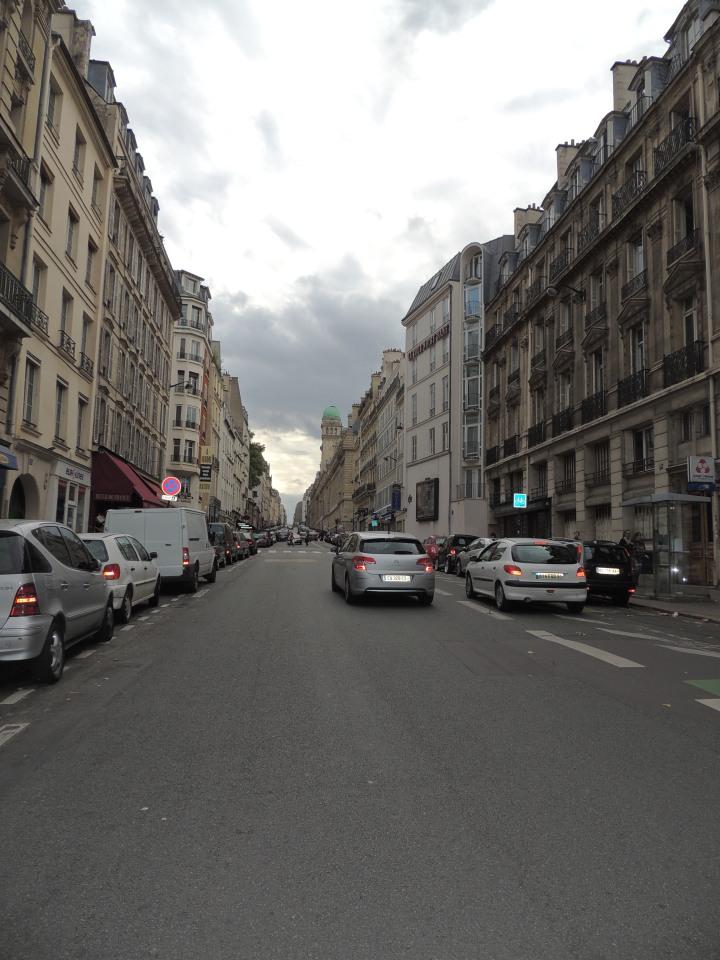 Rue Saint Jacques Le cardo maximus