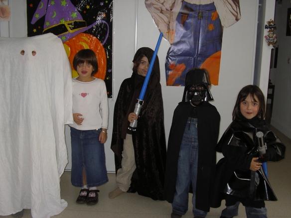 Halloween à la maison