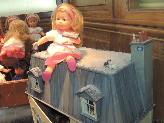 Galeries Lafayette déco de Noel.