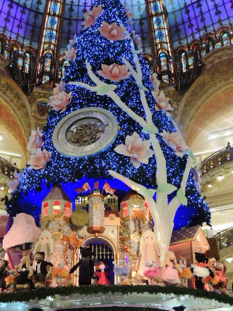 Noel 2013 Paris. Galeries Lafayette.