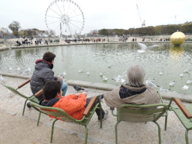 Jardin des Tuileries.
