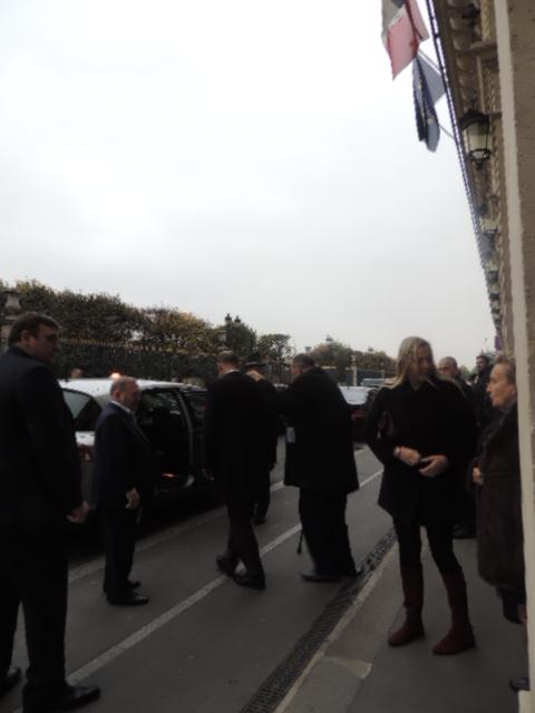 Rue de Rivoli Jacques Chirac