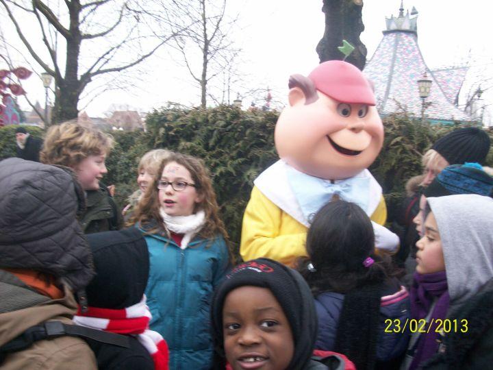 Disneyland avec les copains.