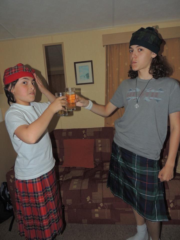 A ta santé William Wallace.