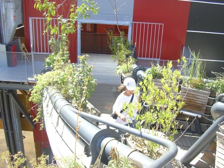 Nantes les machines de l'ile Prototype de l'arbre du Héron.