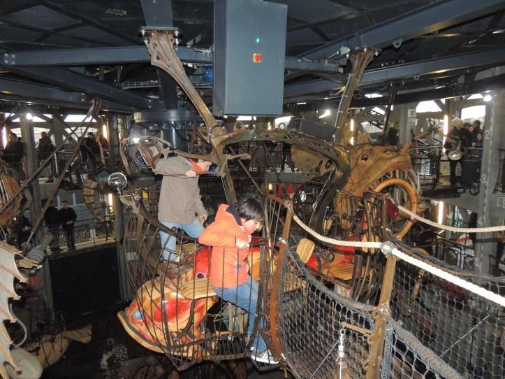 Nantes machines de l'ile.