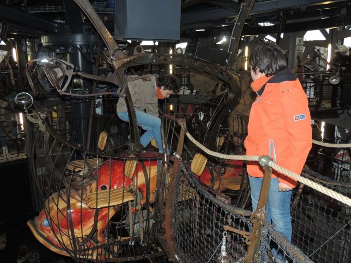 Nantes machines de l'ile