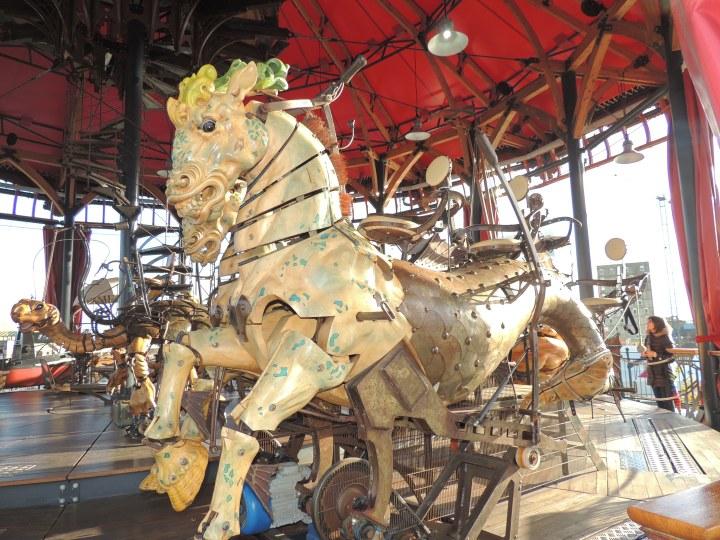 Nantes Les Machines de l'île.
