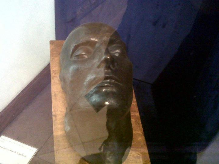 Napoléoné...enfin son masque mortuaire.