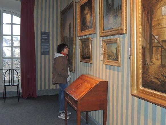 Musée Carnavalet le 12 janvier.