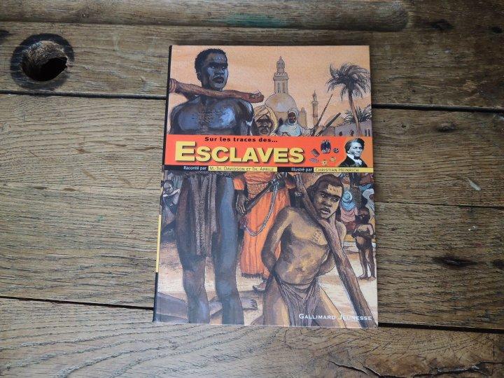 Livre Sur la trace des esclaves.