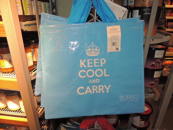 Keep calm t'es pas à Londres. M&S