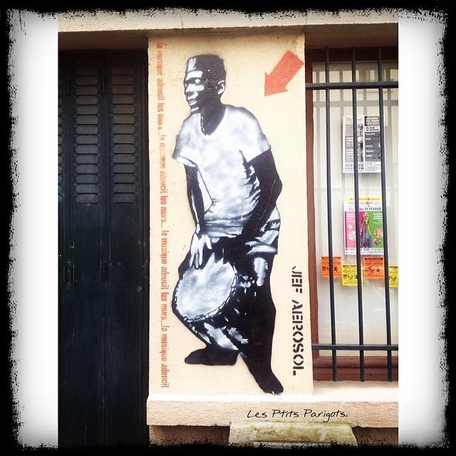 La Butte aux Cailles Street art Paris Zig Zag