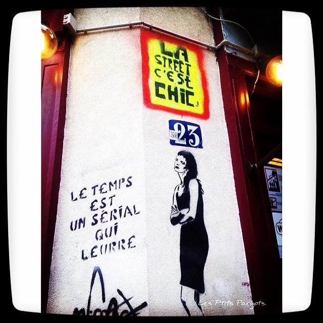 La Butte aux Cailles Street art Paris Zig Zag.