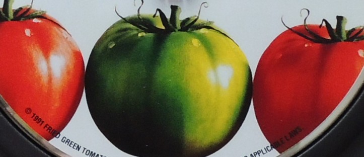 Beignets de tomates vertes.