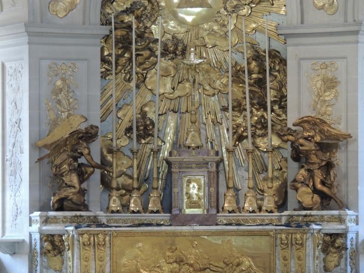 Versailles Orgue de la Chapelle.