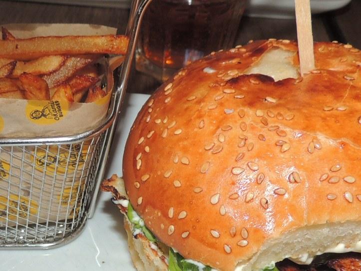 Mamie Burger. juillet 2014