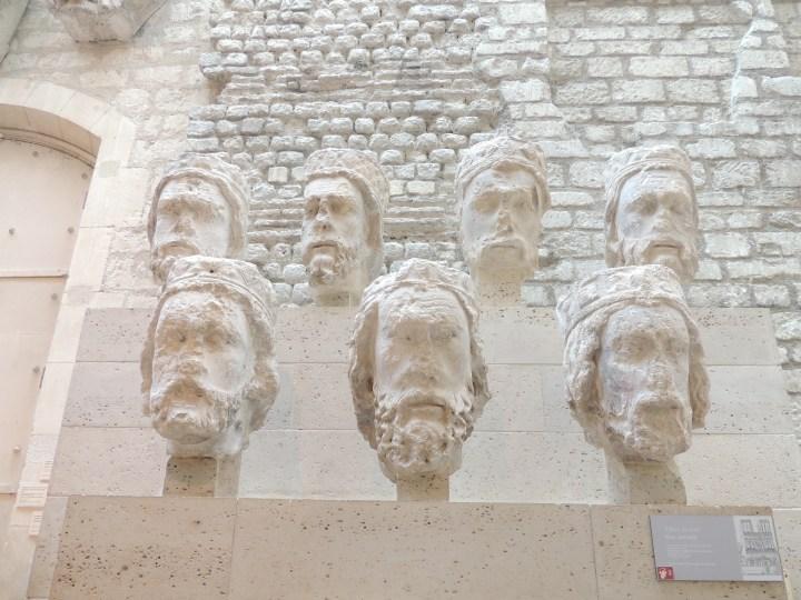 Les Têtes des Rois de Juda. Musée Cluny.