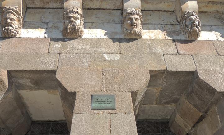 Square du Vert Galant. Dernier bûcher des Templiers.