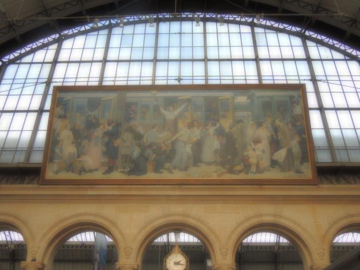 Gare de l'Est.