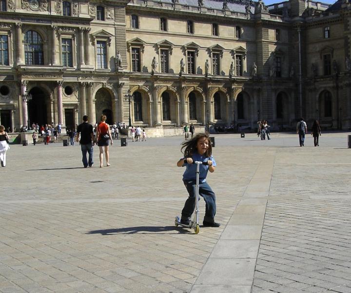 Cour du Louvre.