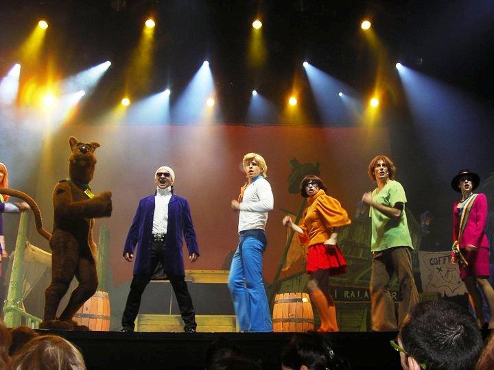 Scooby-doo.