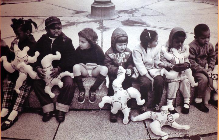 Expo Niki de St Phalle Grand Palais. Enfants