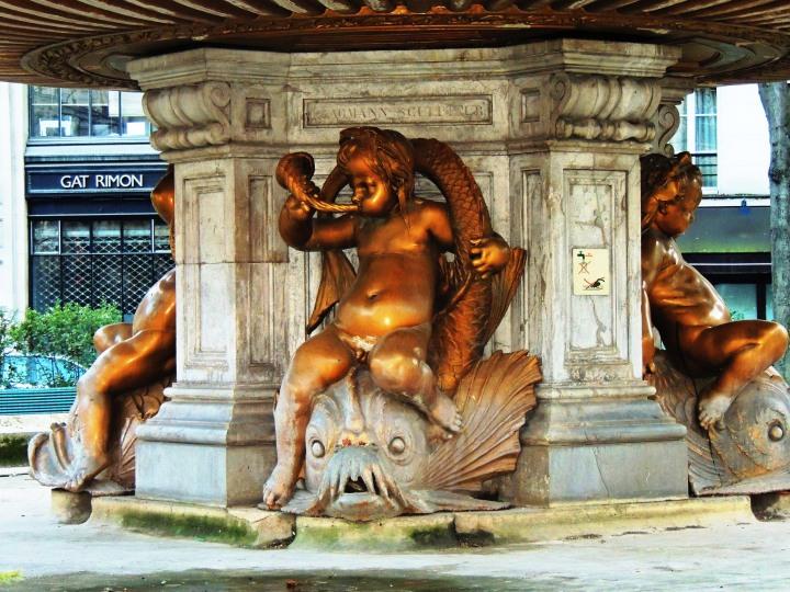 Square et Fontaine Louvois (7)