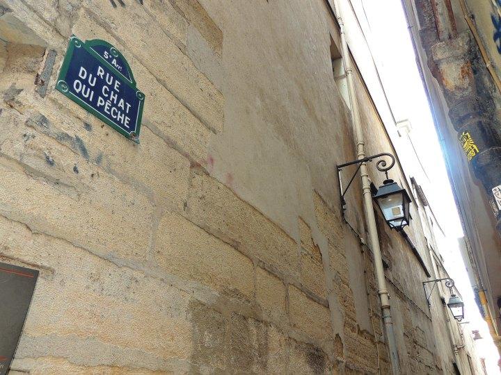 Rue du Chat qui peche