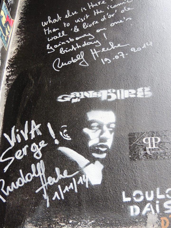 Gainsbourg rue de Verneuil