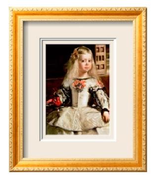 Les Ménines. Infanta Margarita frames543