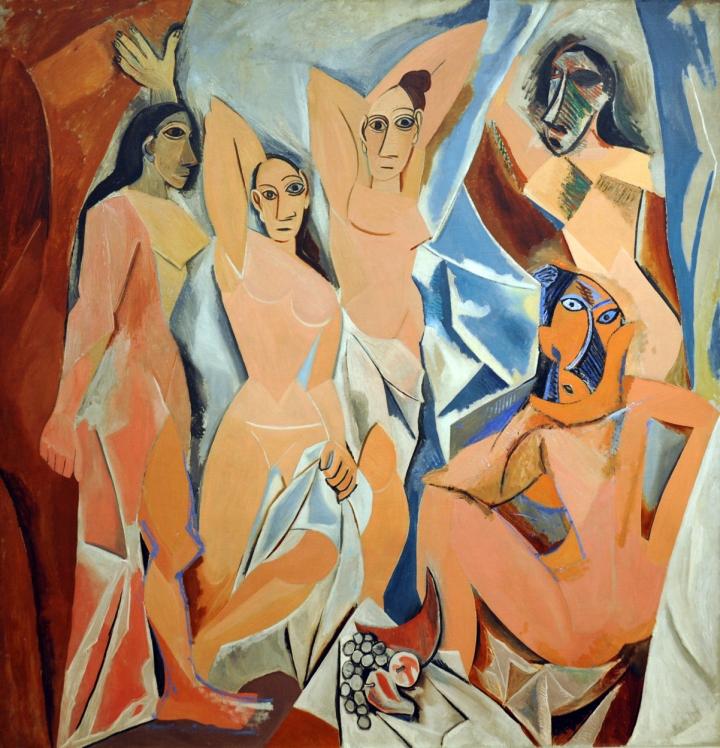 Les Demoiselles d'aAvigon Picasso