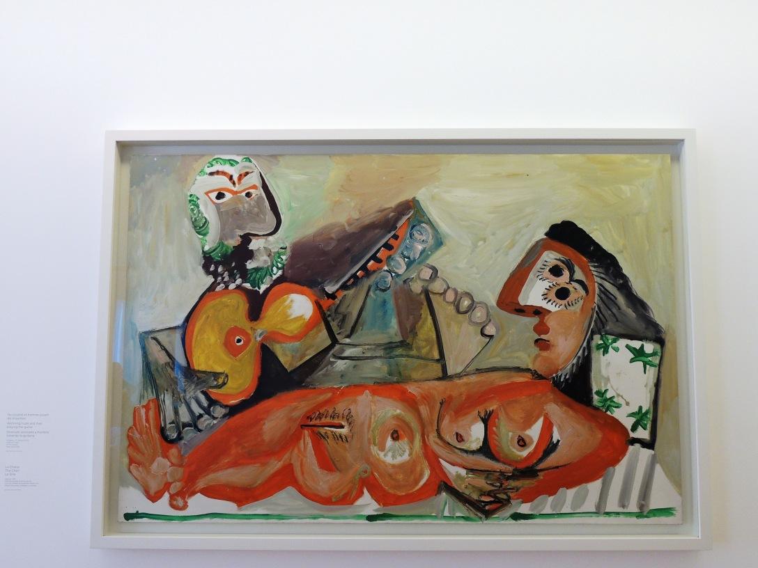 Mus e picasso tu paris combien - Picasso nature morte a la chaise cannee ...