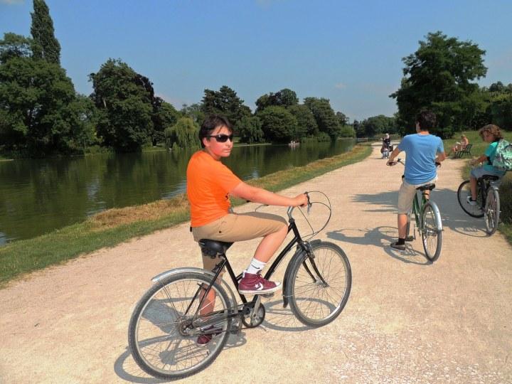 Vincennes en vélo juillet 2014