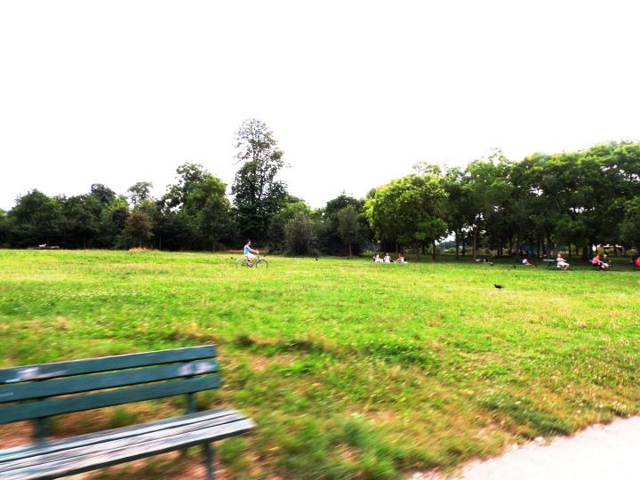 Vélo à Vincennes
