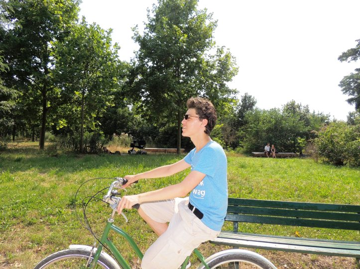 Vincennes juillet 2014 en vélo