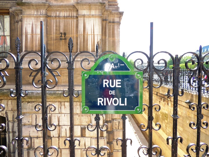 Balade du dimanche rue de Rivoli 17 mai 2015