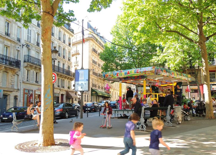 Manège rue des Martyrs