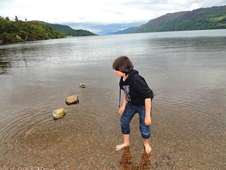 Jules Loch Ness Ecosse