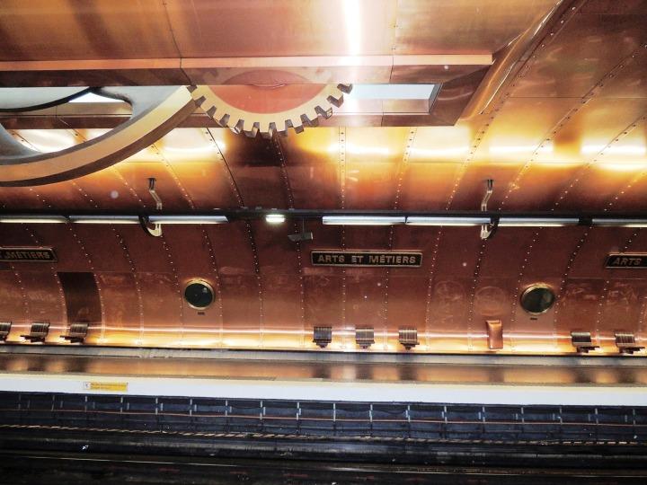 Station de métro Arts et Métiers (7)
