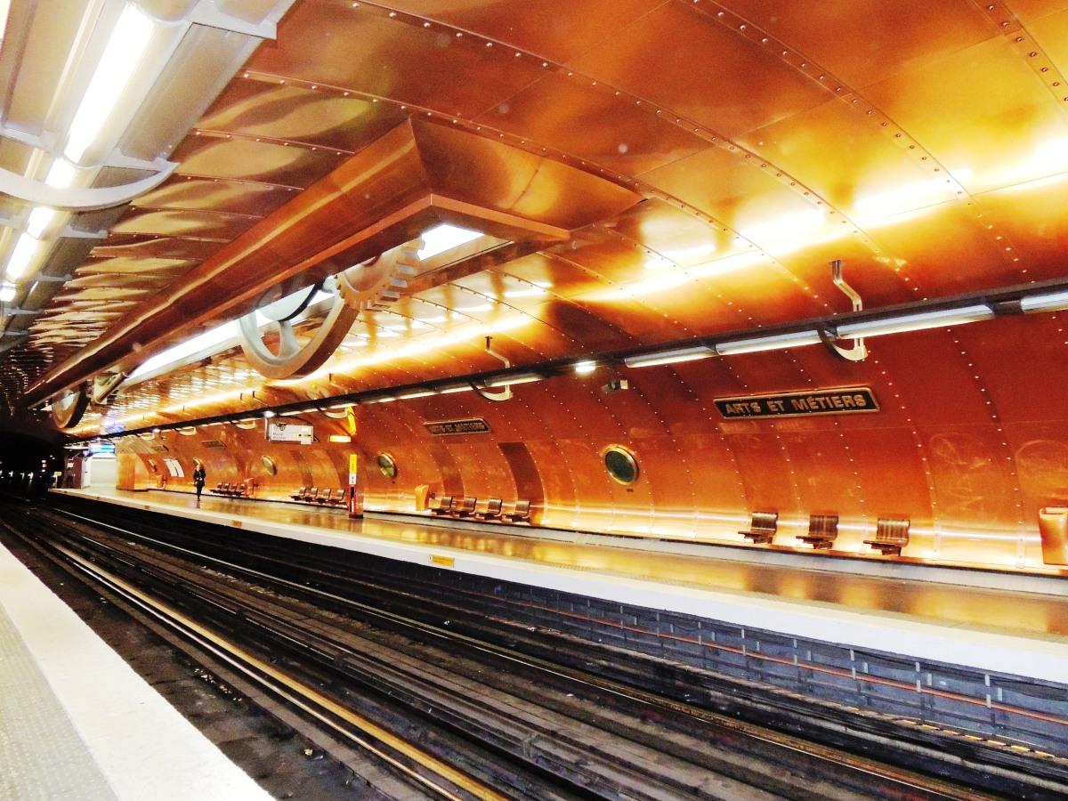 Arts et Métiers (station de métro) – Tu PARIS combien ?