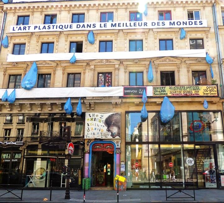 Squat 59 rue de Rivoli (1)