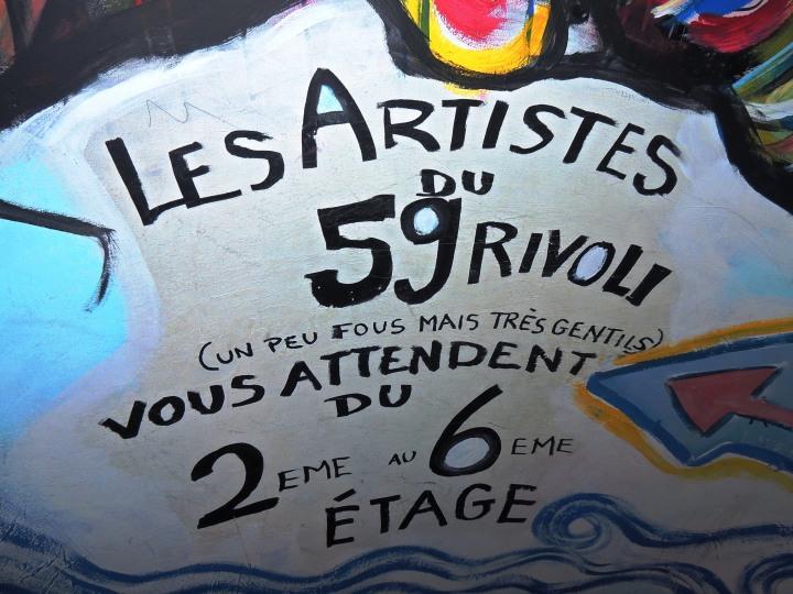 Squat 59 rue de Rivoli (33)