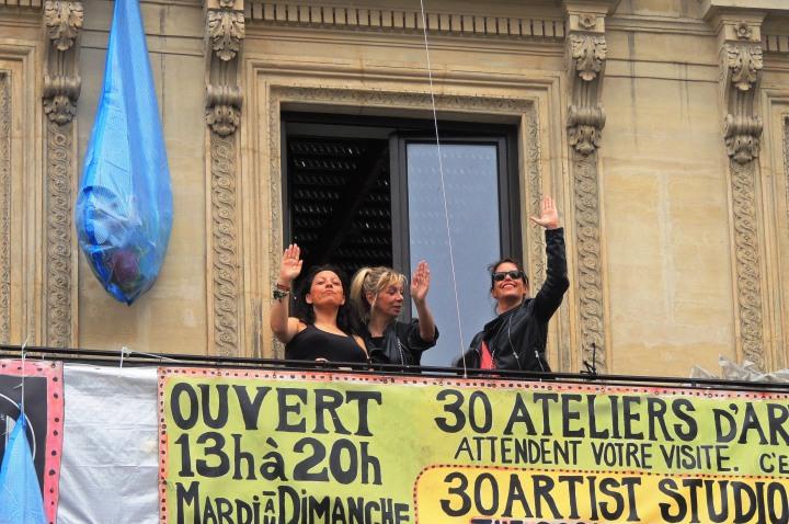 Squat 59 rue de Rivoli
