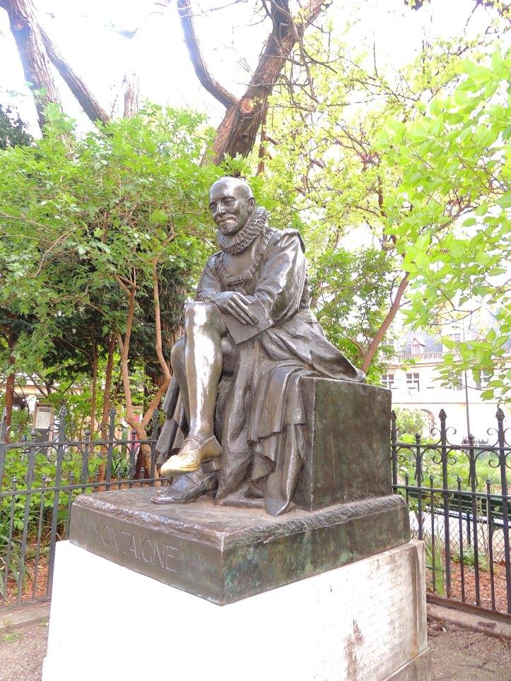 Statue de Montaigne Square Painlevé (10)