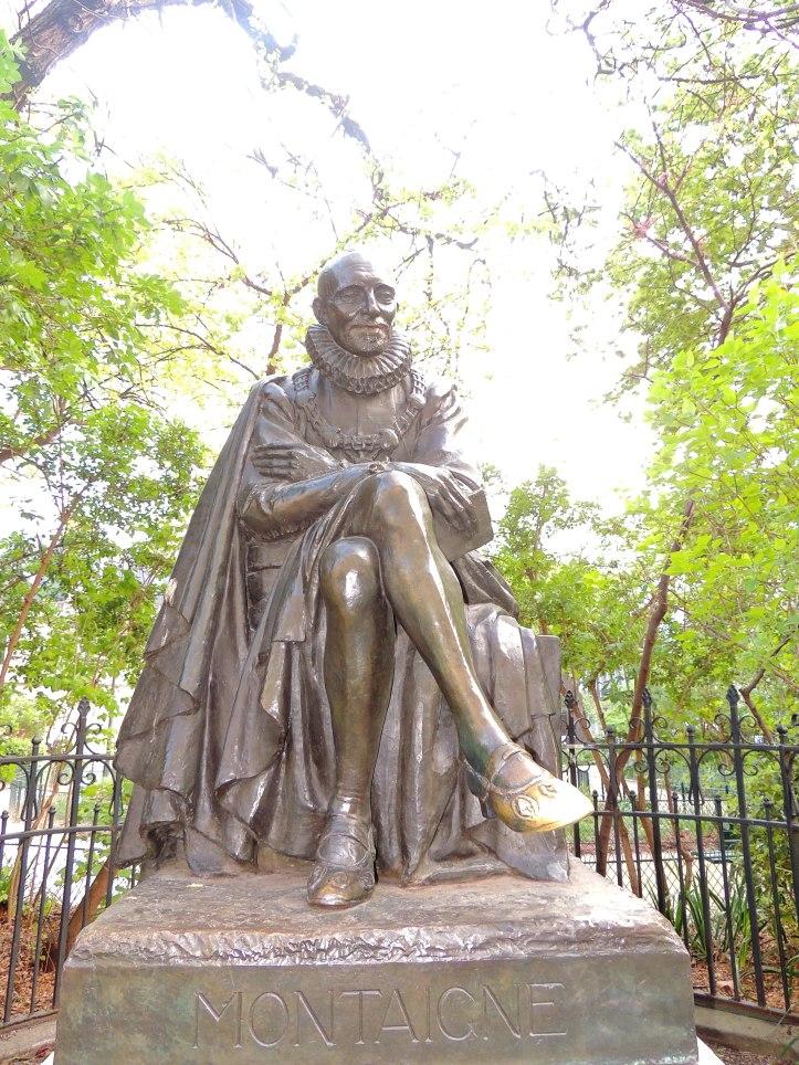 Statue de Montaigne Square Painlevé (3)