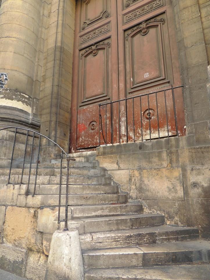 Escalier Saint-Sulpice.