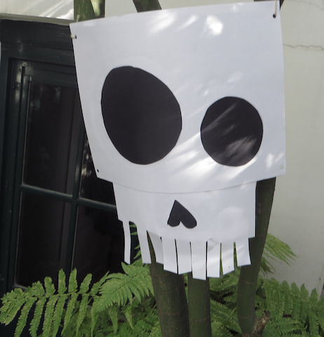 Tête de mort DIY
