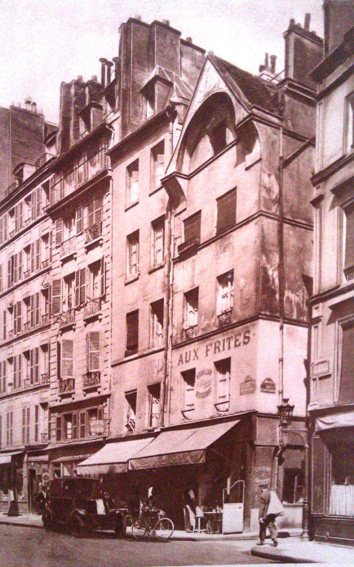 Rue François Miron Maison 11 et 13 début XXème S