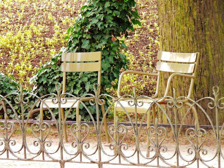 Chaise jardin du Luxembourg